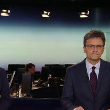 Mislav Bago razgovara s ministrom turizma Garijem Capellijem (Video: Dnevnik Nove TV)