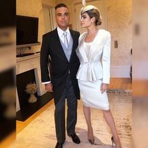 Ayda Field i Robbie Williams (Foto: Instagram)