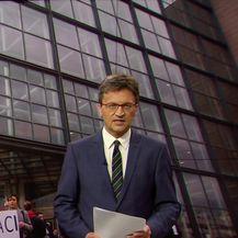 GONG ispred NSB-a dočekao uzvanike prije promocije knjige Martine Dalić (Video: Vijesti u 17h)