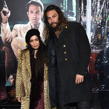 Lisa Bonet i Jason Momoa (Foto: Chase Rollins/Press Association/PIXSELL)