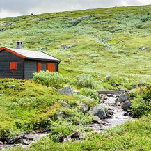 Drvene kućice u Hardangerviddi, Norveška