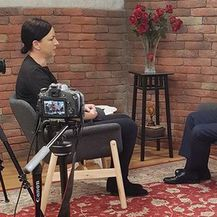 Intervju Lane Ružičić sa Stipom Mesićem (Foto: Dnevnik.hr)