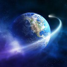 Meteor prolazi pored Zemlje (Ilustracija: Getty)