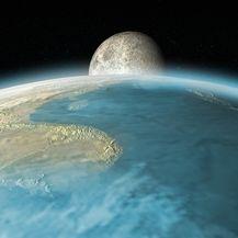 Zemlja i Mjesec (Ilustracija: Getty)