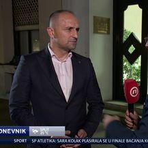 Mislav Bago i Ivan Anušić (Foto: Dnevnik Nove TV)