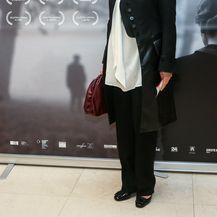 Jadranka Sloković na zagrebačkoj premijeri filma Dnevnik Diane Budisavljević