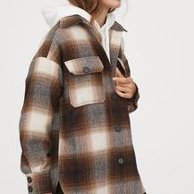 Popularna karirana košulja-jakna iz H&M-a