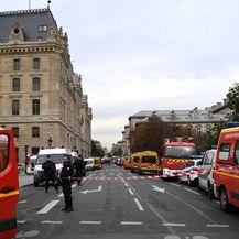 Pariz: Najmanje jedan policajac poginuo u napadu nožem u policijskoj postaji (Foto: AFP)