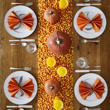 Ideje za dekoriranje doma s kraljicom jeseni bundevom - 4