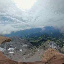 Orao s kamerom na leđima preletio Alpe (Foto: Dnevnik.hr) - 1