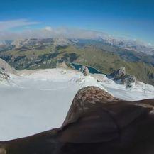 Orao s kamerom na leđima preletio Alpe (Foto: Dnevnik.hr) - 3