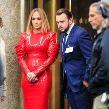 Jennifer Lopez i John Bradley na setu filma