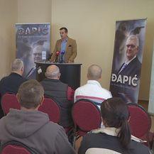 Predstavljanje kandidata Đapića (Foto: Dnevnik.hr)
