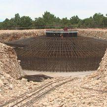 Temelji na gradilištu (Foto: Dnevnik.hr)