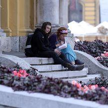 Studenti, ilustracija (Foto: Goran Stanzl/PIXSELL)