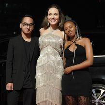Angelina Jolie, Zahara Jolie Pitt, Maddox Jolie Pitt (Foto: Getty Images)