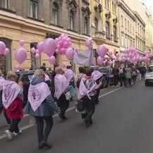 Povorka na Danu ružičaste vrpce (Foto: Dnevnik.hr)