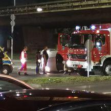 Prometna nesreća u Zagrebu (Foto: Dnevnik.hr)