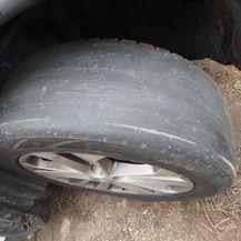 Istrošene automobilske gume (Foto: PU Maribor) - 2