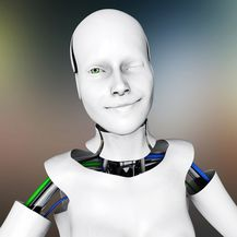 Robot namiguje (Ilustracija: Getty)