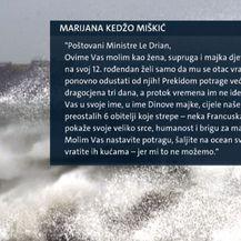 Dopis Marijane Kedžo Miškić (Foto: Dnevnik.hr)