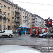 Dimi se tramvaj u Zagrebu (Foto: Dnevnik.hr)