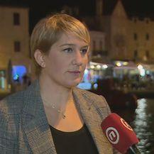 Ivana Marković o smeću na Braču (Foto: Dnevnik.hr)