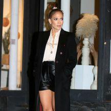 Jennifer Lopez na snimanju filma Merry, me u New Yorku