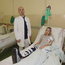Liječnici KBC-a Sestre milosrdnice spasili nogu Martine Dir (Foto: Dnevnik.hr)