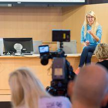 Urška Jež na Fintech konferenciji u Šibeniku (Foto: Krešimir Tubikanec)