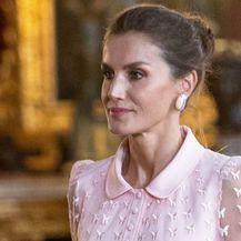 Kraljica Letizia u ružičastoj \'bombon\' haljini španjolskog dizajnera Felipea Varela - 2