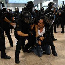 Prosvjed u Kataloniji (Foto: AFP) - 2