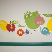 Vanda Čižmek - Bakterijice vredice (Bolnica Rebro, čekaonica Klinike za pedijatriju)