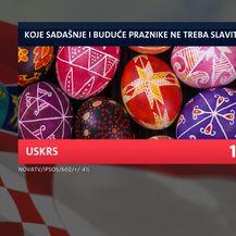 Istraživanje o praznicima, Uskrs (Foto: Dnevnik Nove TV)