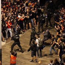 Prosvjedi u Barceloni (Foto: AFP) - 2