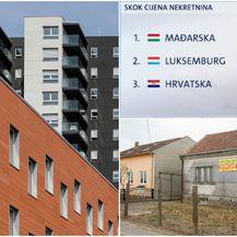 Nerazmjer u cijenama nekretnina (Foto: I. Kralj/PIXSELL, D. Petric/PIXSELL