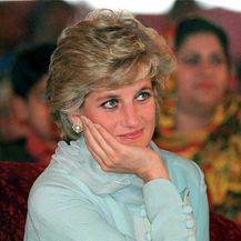 Princeza Diana u Pakistanu 1996. godine