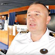 Hrvatski kapetan Jozo Glavić (Screenshot: YouTube/Fred. Olsen Cruise Lines)