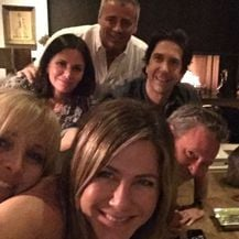 Jennifer Aniston, Matt LeBlanc, David Schwimmer, Courteney Cox, Lisa Kudrow, Matthew Perry (Foto: Instagram)