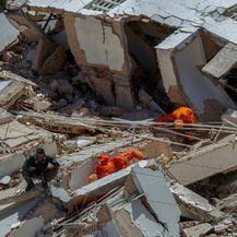 Urušavanje stambene zgrade u Brazilu (Foto: AFP) - 1