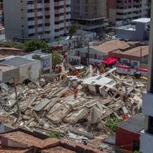 Urušavanje stambene zgrade u Brazilu (Foto: AFP) - 2