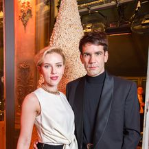 Scarlett Johansson i Romain Dauriac (Foto: Getty Images)