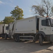 Kamioni za odvoz smeća (Foto: Dnevnik.hr)
