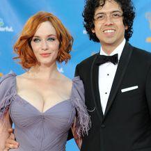Christina Hendricks i Geoffrey Arend (Foto: AFP)