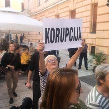 Prosvjed u Zadru (Foto: Dnevnik.hr)