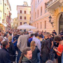 Prosvjed pred Županijskim sudom u Zadru (Foto: Dnevnik.hr) - 3