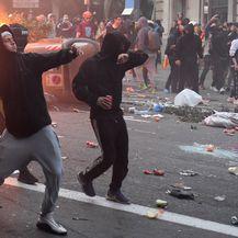 Veliki prosvjed u Barceloni, sukobi s policijom (Foto: AFP) - 1