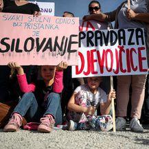 Prosvjed Pravda za djevojčice u Zagrebu (Foto: Igor Kralj/PIXSELL) - 4