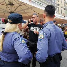 Incident na prosvjedu u Puli (Foto: M. Košta/Glas Istre) - 1