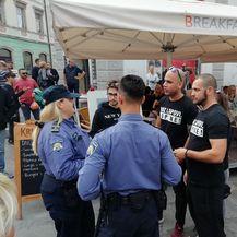 Incident na prosvjedu u Puli (Foto: M. Košta/Glas Istre) - 2